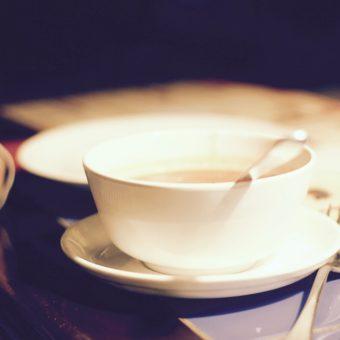 Kryddig soppa med bonor